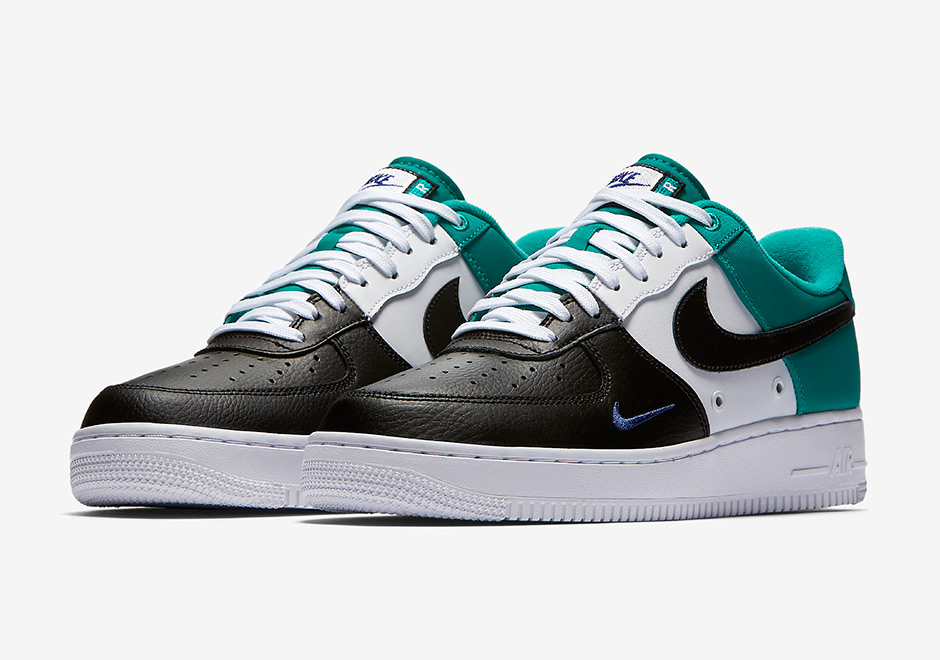 Nike Air Force 1 Low Mini Swoosh Neptuen Green 823511 002