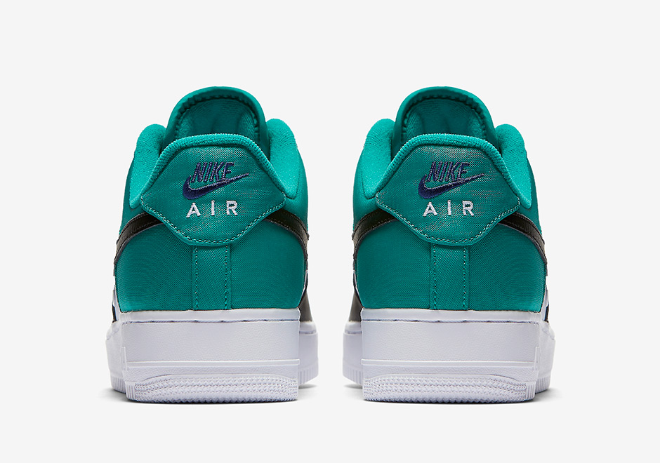 the best attitude d0ecd 697fc NIke Air Force 1 Low Mini Swoosh Neptuen Green 823511-002 ..