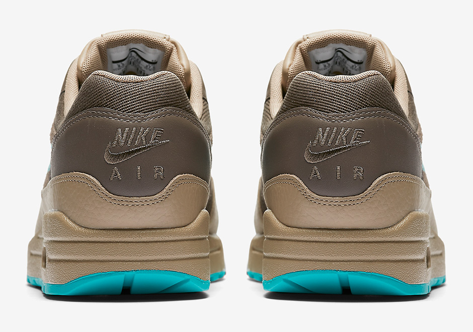 Nike Air Max 1 Premium Available Now at NIKE Available Now at Jimmy Jazz   110. Color  Ridgerock Khaki Turbo Green 3024698d0
