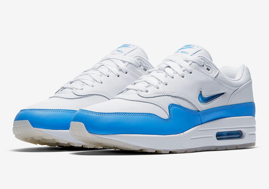 "sports shoes ed68e 83f2f Nike Is Bringing Back The Original ""University Blue"" Air Max 1 SC Jewel"