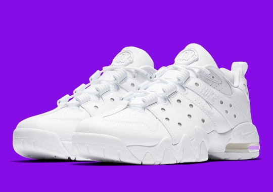 """The Nike Air Max2 CB 94 Low Is Releasing In """"Triple White"""""""