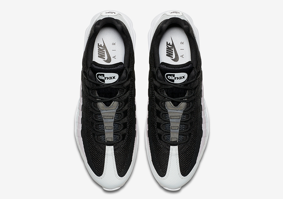 Nike Air Max 95 Ultra Black Pink White 857910 009  857910 009