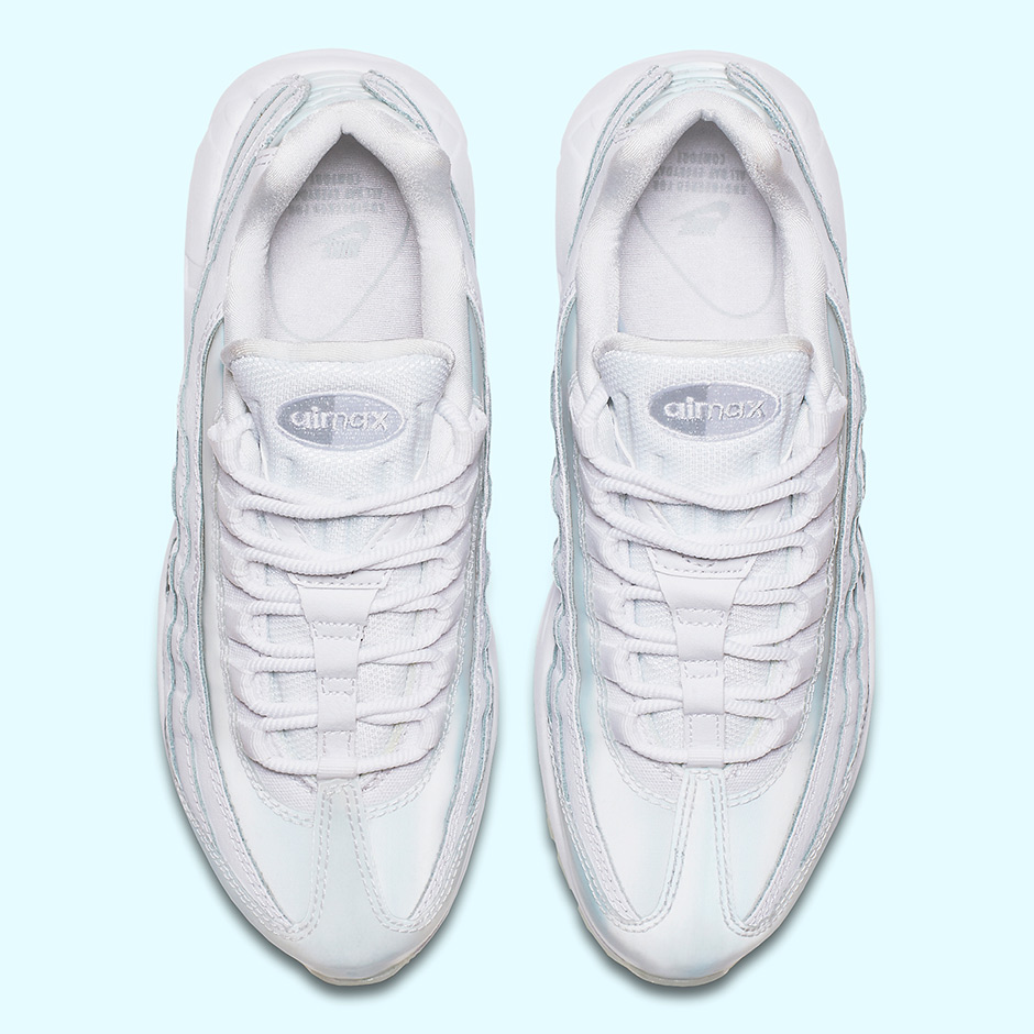 online store 12b63 7c545 Nike WMNS Air Max 95 SE Release Date  July 2017  150. Color  White Pure  Platinum-Ice Style Code  918413-100. Advertisement