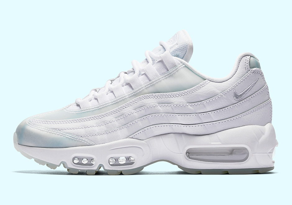 online retailer 0d84d 65d54 Nike WMNS Air Max 95 SE Release Date July 2017 150. Color WhitePure  Platinum-Ice Style Code 918413-100