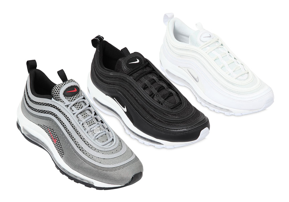 This fall the Nike Air Max 97 will continue its return for its 20th  anniversary this year with all new looks and an updated version of the  classic Silver