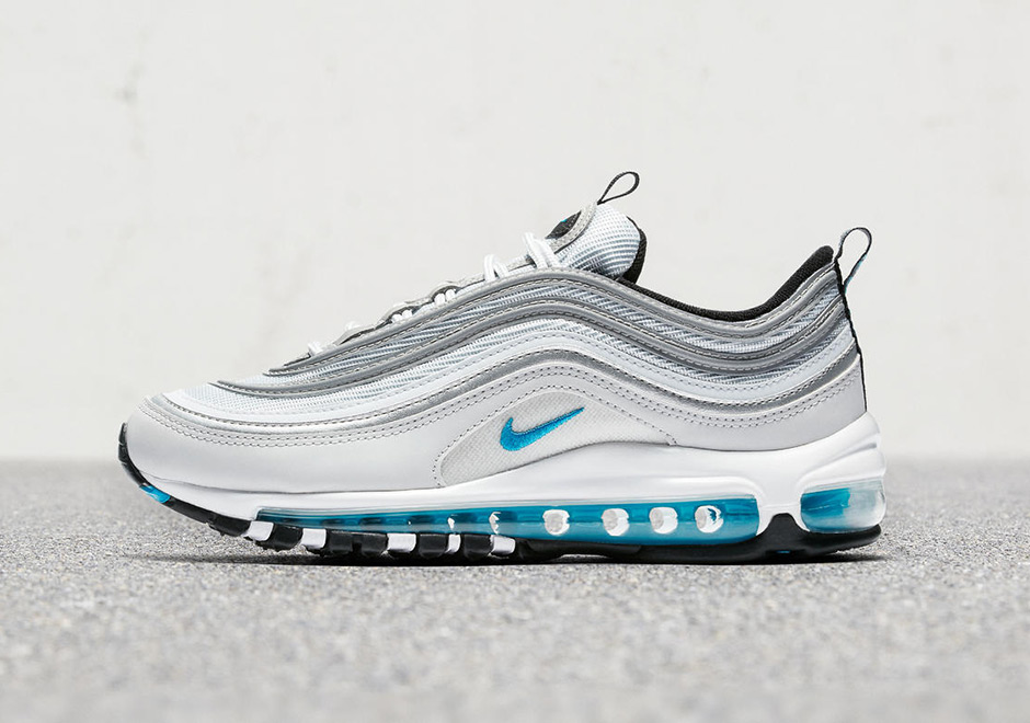 "new arrivals 0f2a3 7230f ... Updated on July 5th, 2017 The WMNS Nike Air Max 97 ""Marina Blue"" ..."