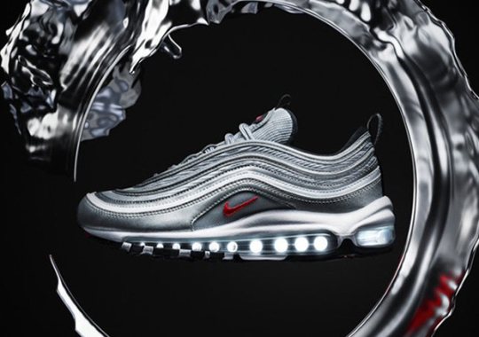 "The Nike Air Max 97 ""Silver Bullet"" Is Restocking Tomorrow"