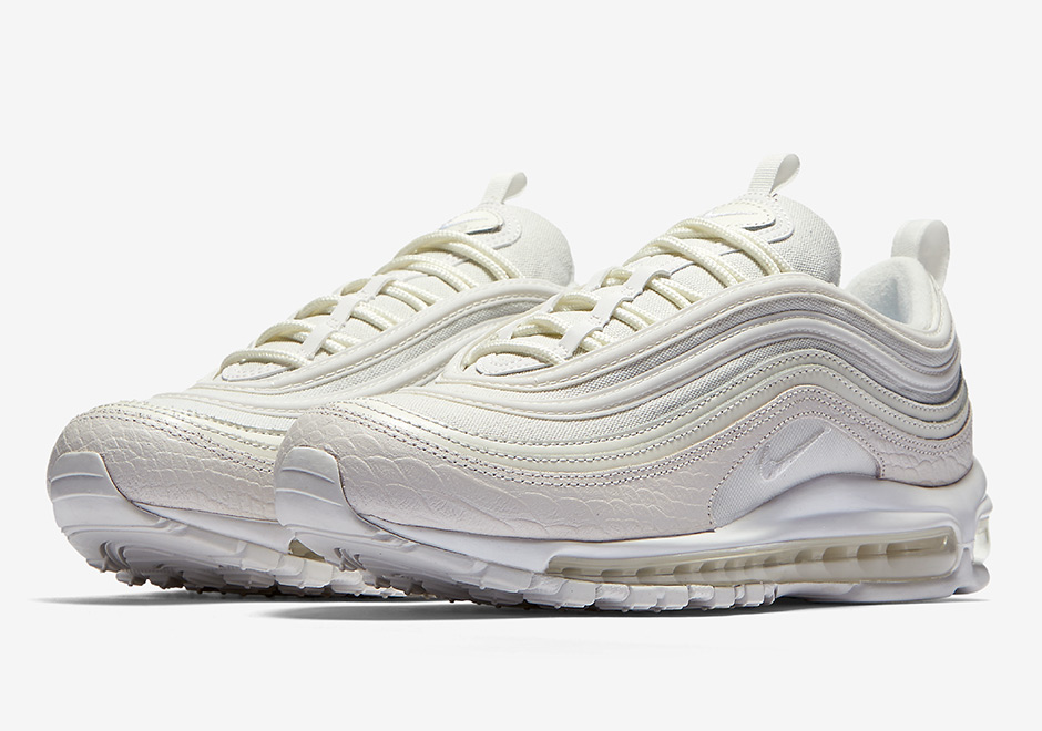 "Updated on June 22nd, 2017: The Nike Air Max 97 ""White Snakeskin"" releases  on June 29th, 2017 for $160."