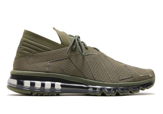 4cf514d0f9 The Nike Air Max Flair Is Releasing In Olive