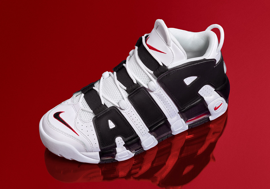 f590a5afd2a The Nike Air More Uptempo released in a PE edition for Scottie Pippen for  the summer Olympics in 1996