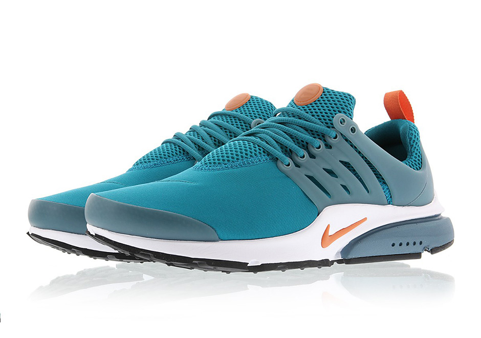 5c235721ba40 Miami Dolphins fans that happen to like the Nike Air Presto definitely have  something to look forward to with this upcoming colorway.