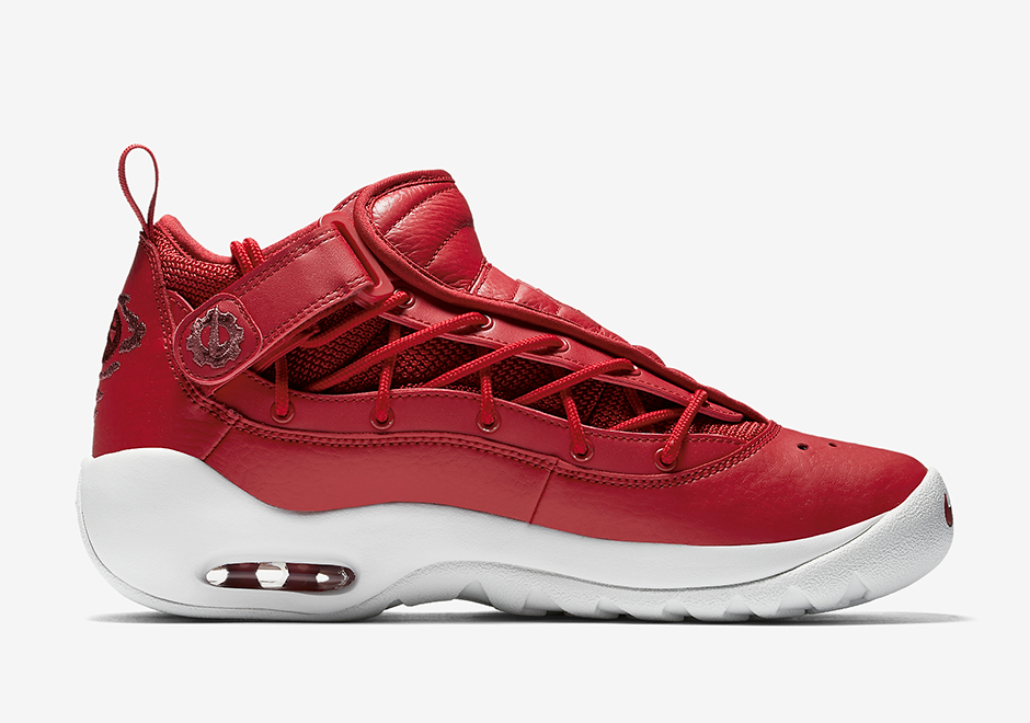 """1e3983d3d20 Nike Air Shake NDestrukt """"Gym Red"""" AVAILABLE NOW AT Nike  140. Color  Gym  Red White Style Code  880869-600"""