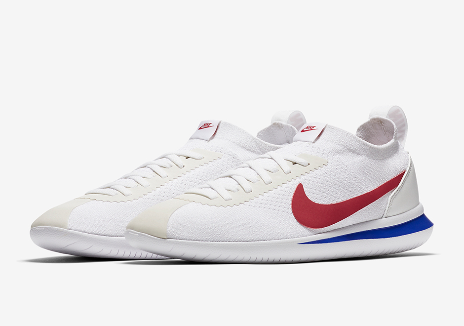 outlet store d39d6 aa9b9 ... australia nike cortez flyknit release date july 4th 2017. color white  university red game royal
