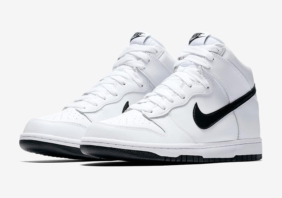 Nike Dunk High White Gym Red 904233-102