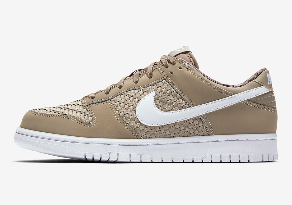 0f2e87bd7dd Nike SB Dunk Low Woven Khaki 904234-200 | SneakerNews.com