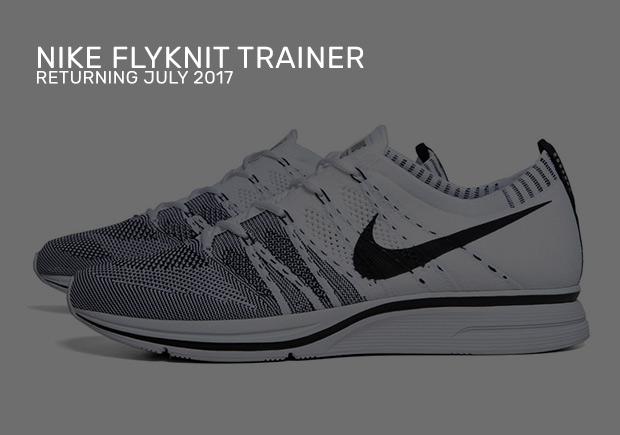 b7bffc5740e Nike Flyknit Trainer July 2017 Retro Colorways