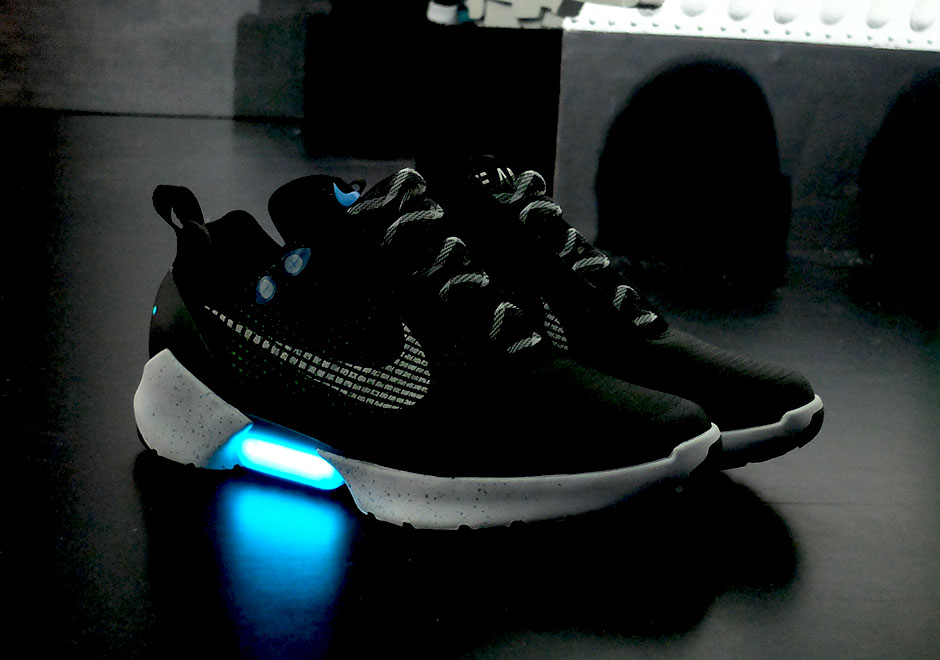 huge selection of 41333 5ec03 The Nike HyperAdapt made the Nike MAGs fictional technology a reality when  it introduced the auto-lacing adaptive fit from Back II The Future earlier  this ...