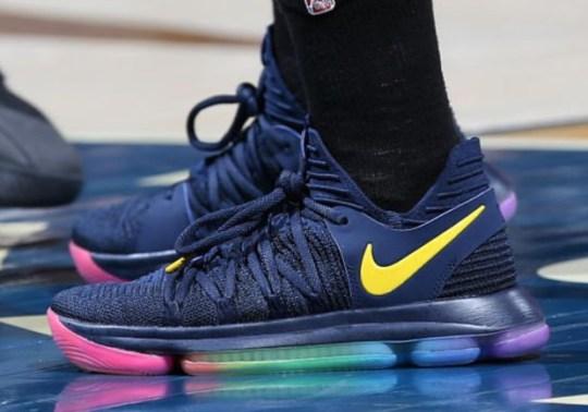 "Nike KD 10 ""Be True"" Hits The WNBA Hardwood"