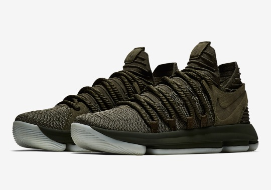 NikeLab To Release First KD 10 In Olive Green