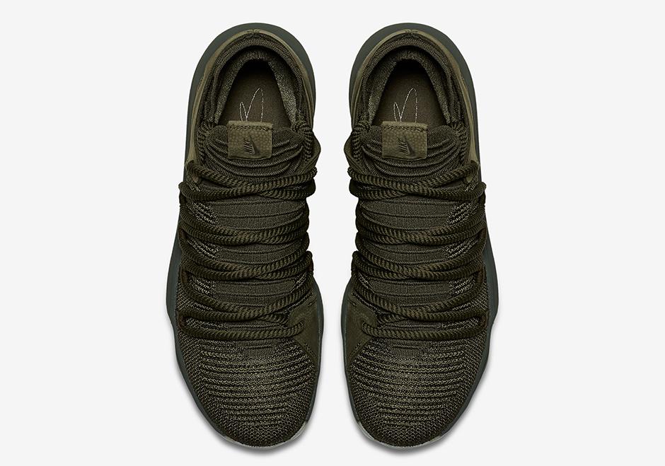 c2f0b34082e6 Nike KD 10 NL EP Olive Green 943298-900