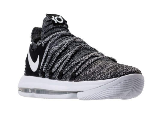 "Nike KD 10 ""Oreo"" Releases On July 1st"