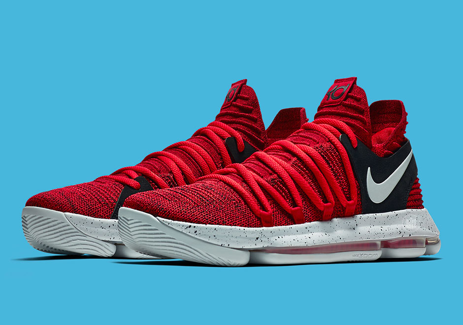 "size 40 fe545 a07e6 Nike KD 10 ""University Red"" Releasing In September"