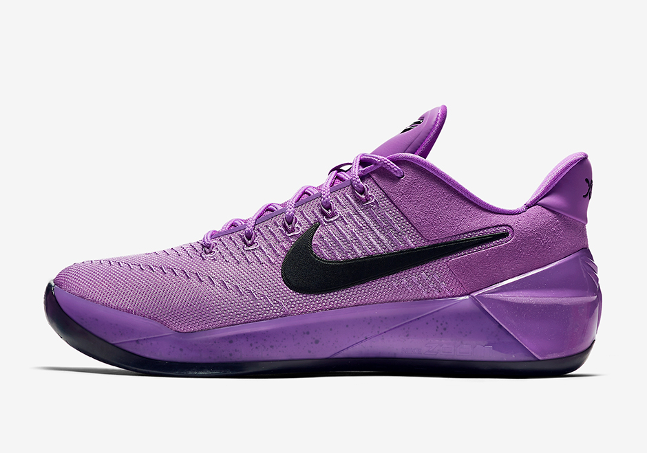 Nike Kobe AD Release Date: June 30th, 2017. AVAILABLE AT Nike $160. Color:  Purple Stardust/Black