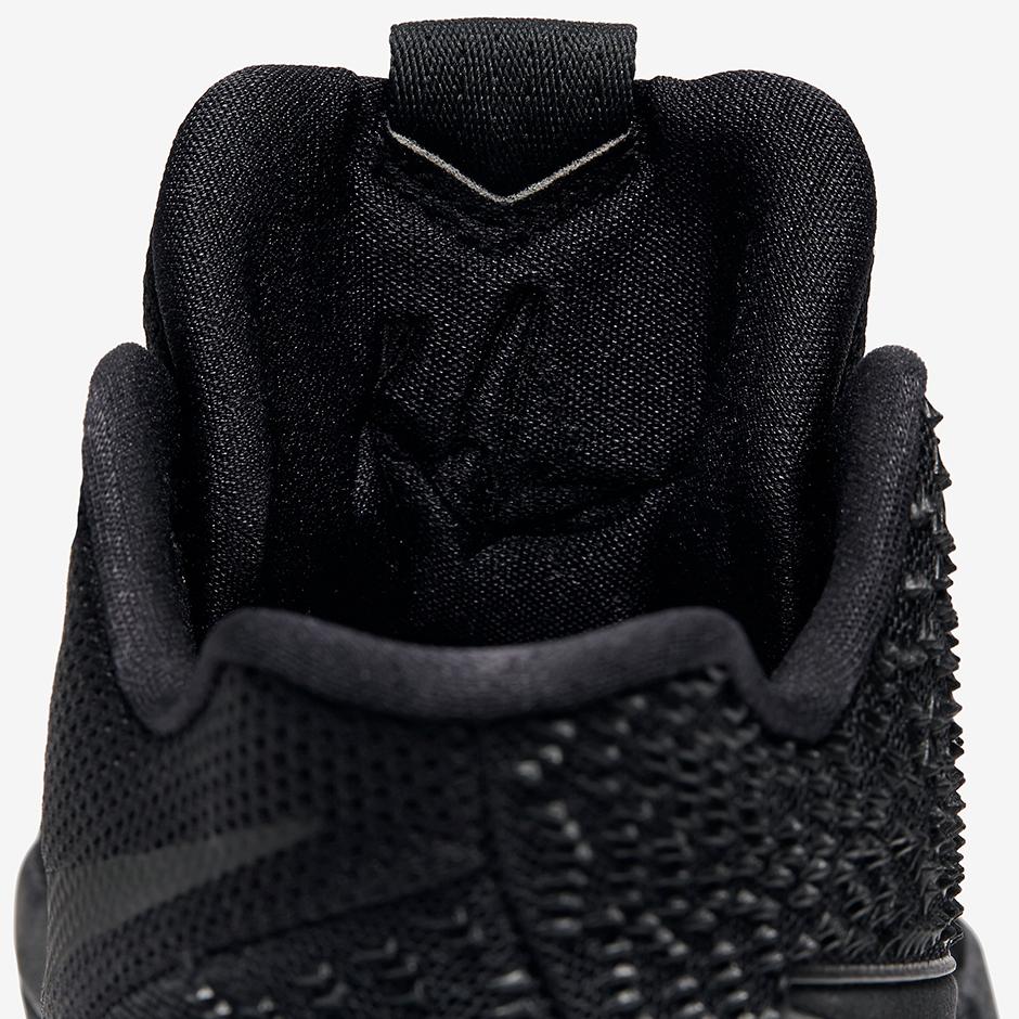e700dc32acf0 Nike Kyrie 3 Triple Black Marble Soles Release Date 852396-005 ...