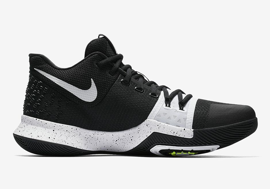 66e92a74d821 Nike Kyrie 3 Tuxedo Black White 917724-001
