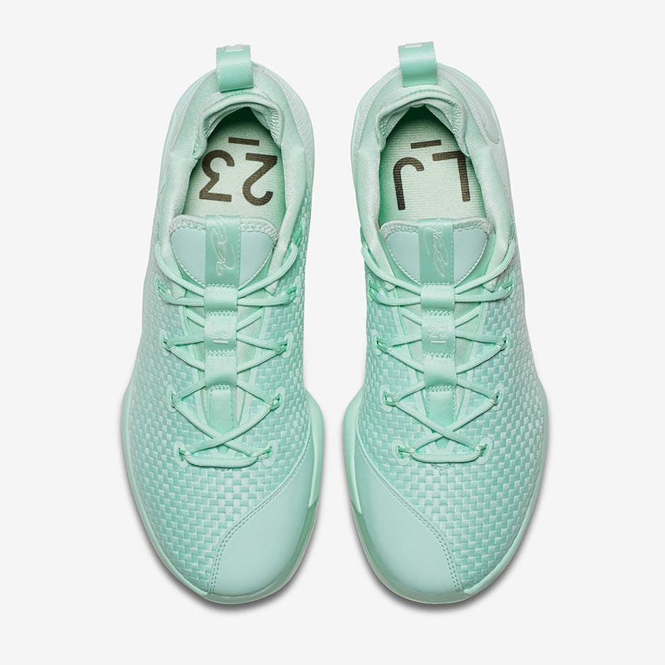 28829796cab Nike LeBron 14 Low Mint Green 878635-300