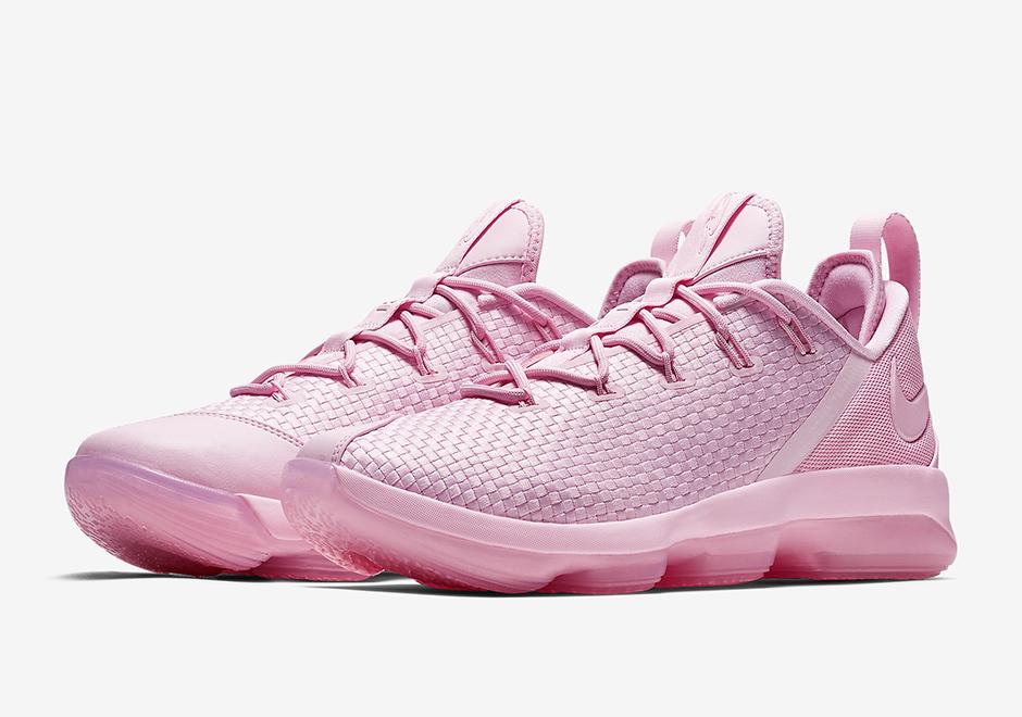 Nike LeBron 14 Low Pink LeBron James ShoeShoes_a0967