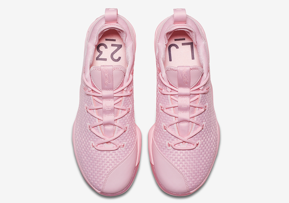 new concept b698a b101a Nike LeBron 14 Low Pink 878635-600 | SneakerNews.com