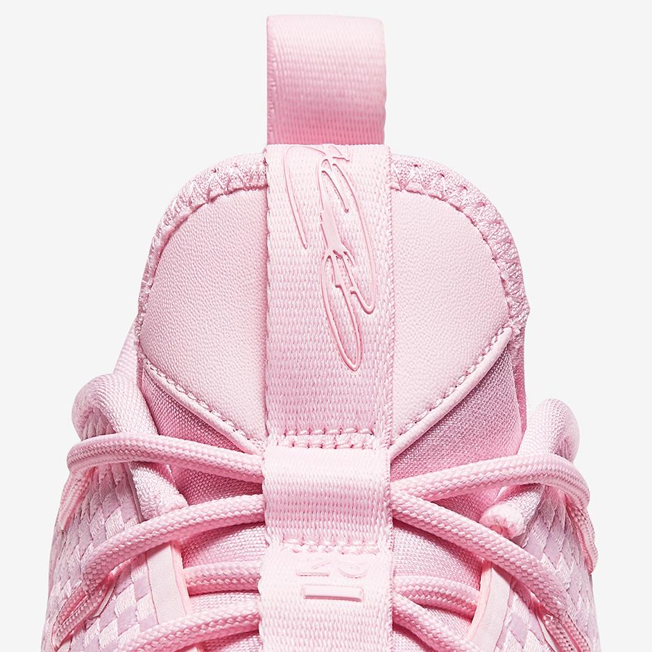 5ff1c585444c47 Nike LeBron 14 Low Pink 878635-600