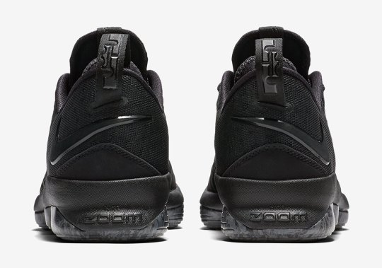 "The Nike LeBron 14 Low ""Triple Black"" Is Coming Soon"