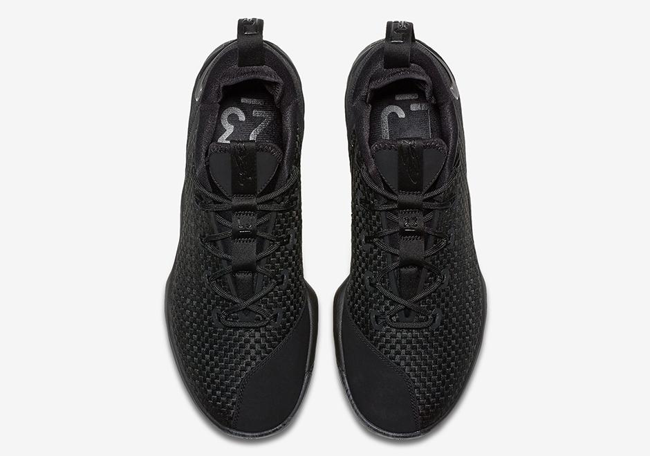 689d4141b271 Nike LeBron 14 Low Triple Black Release Date 878635-002 ...