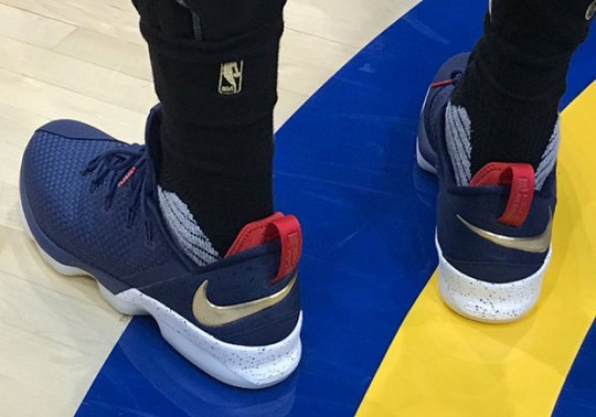LeBron James Debuts Nike LeBron 14 Low
