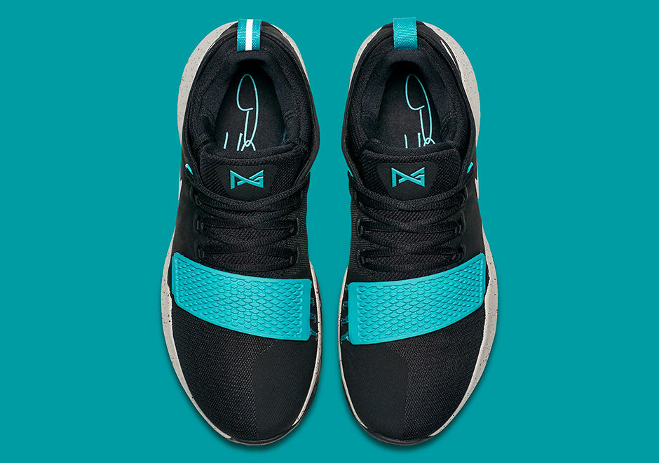 ... Nike Pg 1 Ts Prototype Pre-heat Shining Black Pg1 Paul George 911082-099  ...