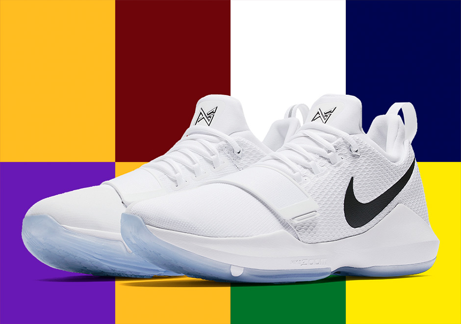 232eb9bcb9a0 Advertisement. Update  The Nike PG 1 White Black ...