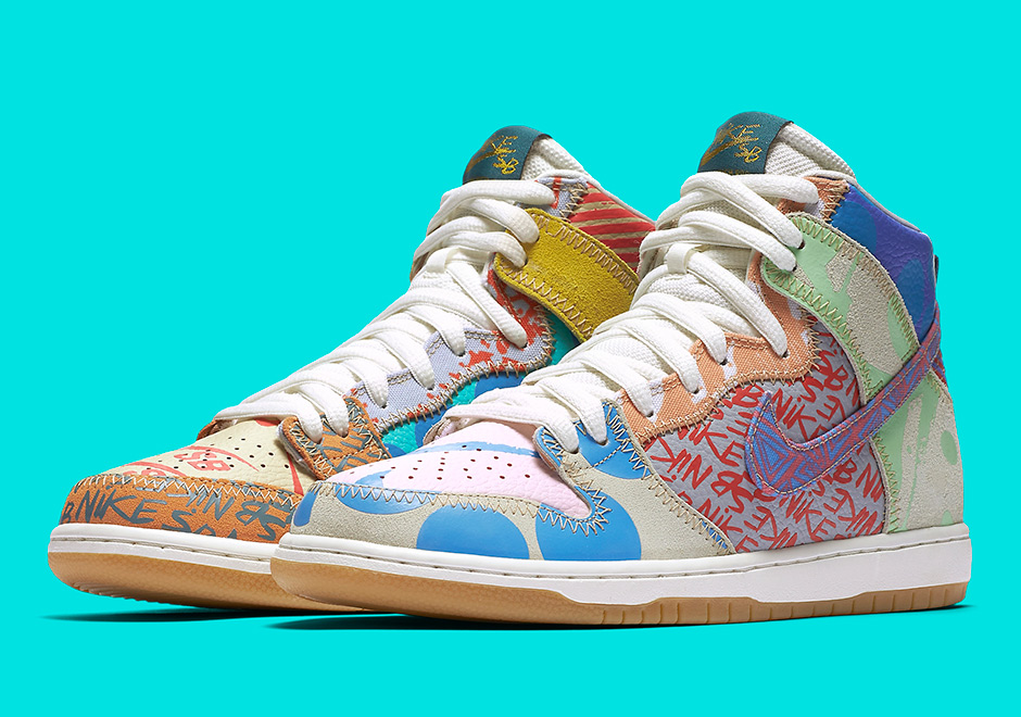 "new styles 70ddb 546ff Nike SB Is Releasing A ""What The"" Dunk High"