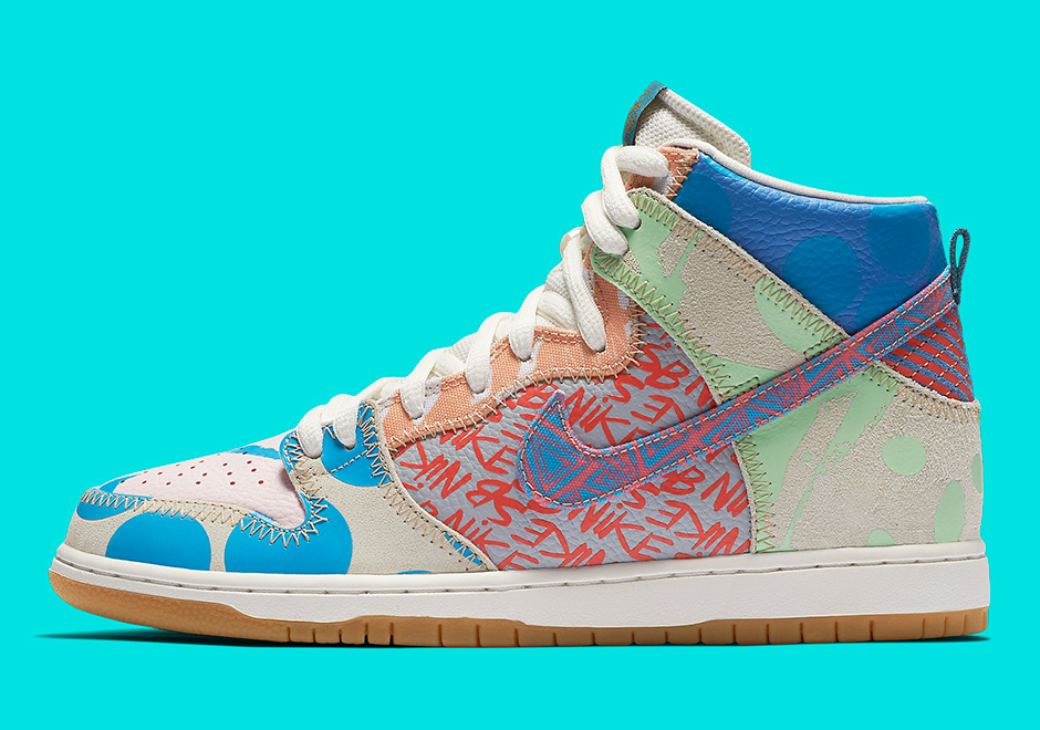 reputable site 89643 463b7 Nike What The SB Dunk High 918321-381 | SneakerNews.com