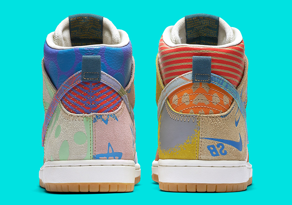 check out 553a6 92196 Nike What The SB Dunk High 918321-381   SneakerNews.com