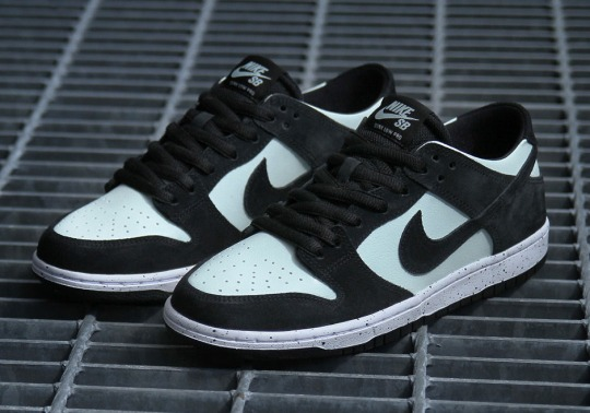 Nike SB Adds Light Mint Green To The Dunk Low