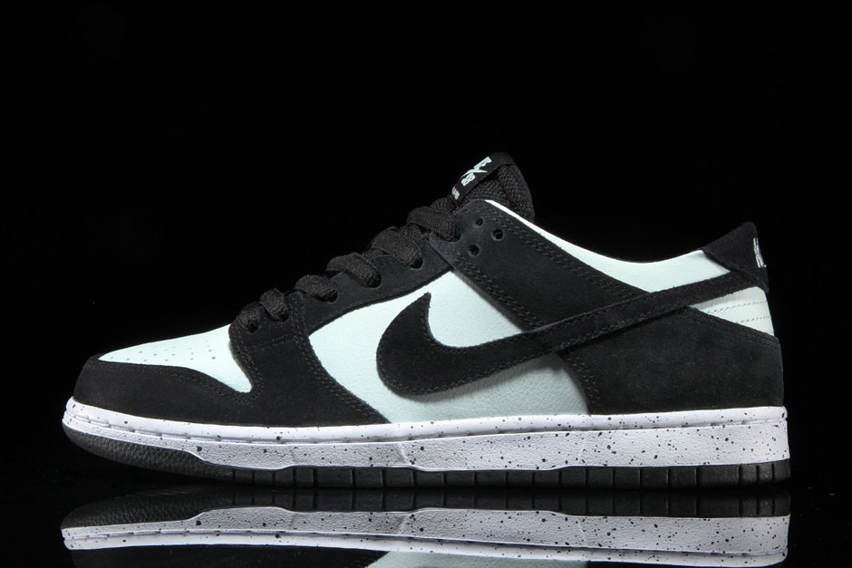meet 41ab7 50621 5674f a5fd1 usa nike sb dunk low pro available from premier 90. color  black barely green white