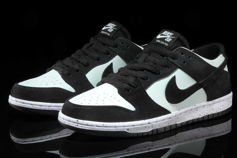 Nike SB Dunk Low Pro AVAILABLE FROM Premier  90. Color  Black Barely  Green-White Style Code  854866-003 b9a6fd9bc
