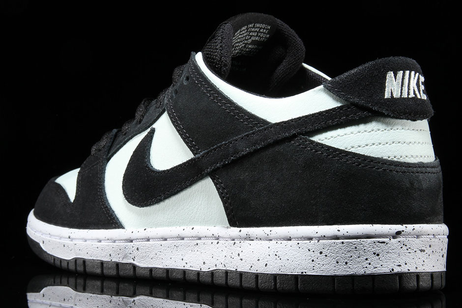 Nike SB Dunk Low Pro AVAILABLE FROM Premier  90. Color  Black Barely Green- White Style Code  854866-003 5e7ec4c63