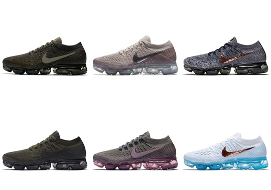 Nike Reveals Release Dates for 7 Upcoming Nike VaporMax Colorways
