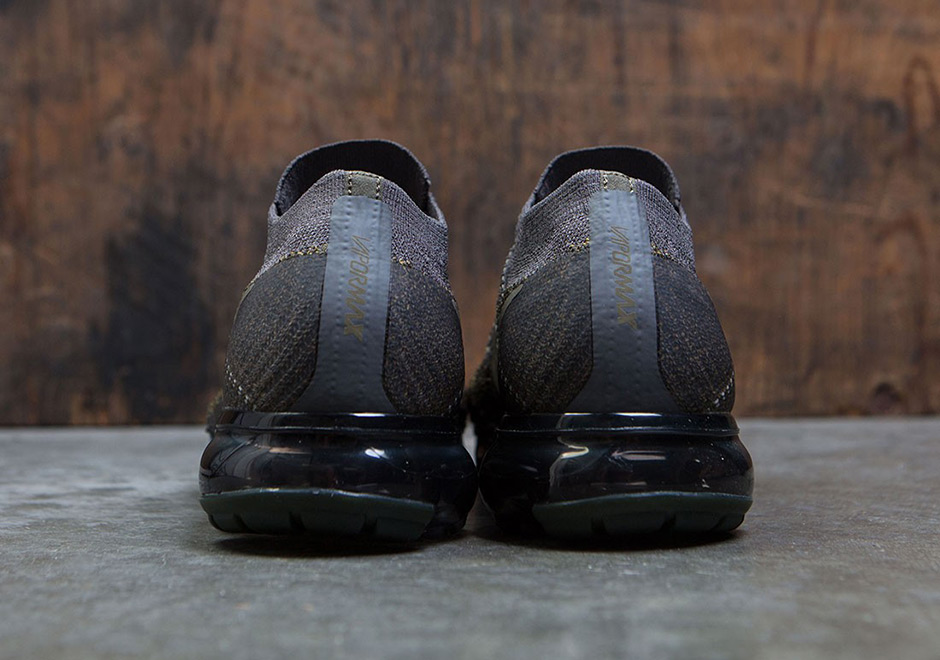 "75f5a2ab9ba Color Midnight NikeLab VaporMax ""Desert Moss"" Release Date June 29th"