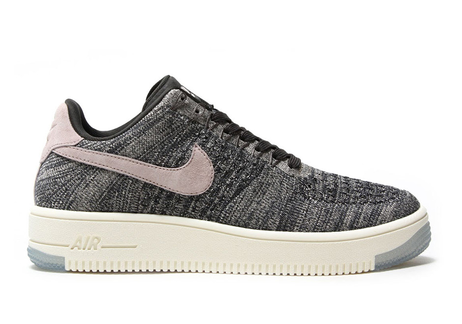 4813f854349 Nike WMNS Air Force 1 Flyknit Low $140. Color: MIDNIGHT FOG/SILT  RED-IVORY-STRING