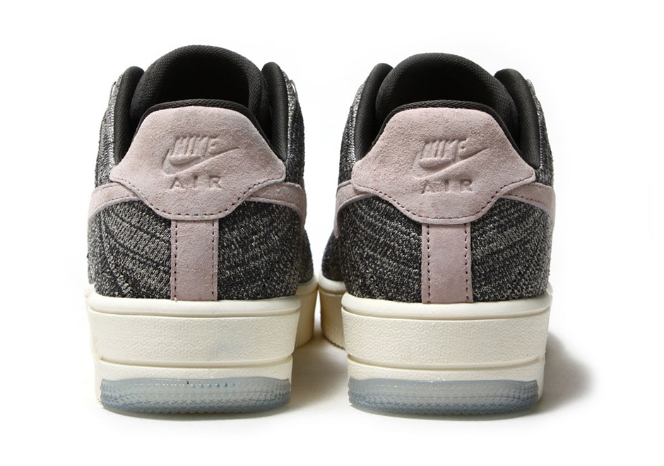 a1a4d227f8ea Nike WMNS Air Force 1 Flyknit Low  140. Color  MIDNIGHT FOG SILT RED-IVORY-STRING  Style Code  820256-008. Advertisement