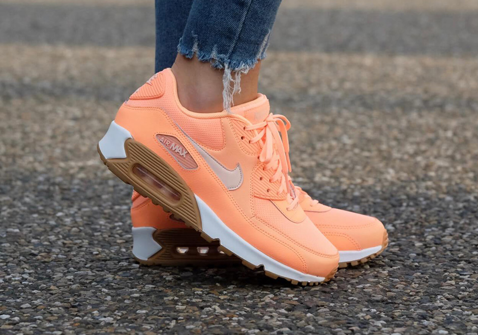 ddd48050c51e Nike WMNS Air Max 90  110. Color  Sunset Glow Sunset Tint-Gum Style Code   325213-802